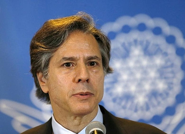 Antony Blinken tại Mexico năm 2015. Ảnh: Reuters.