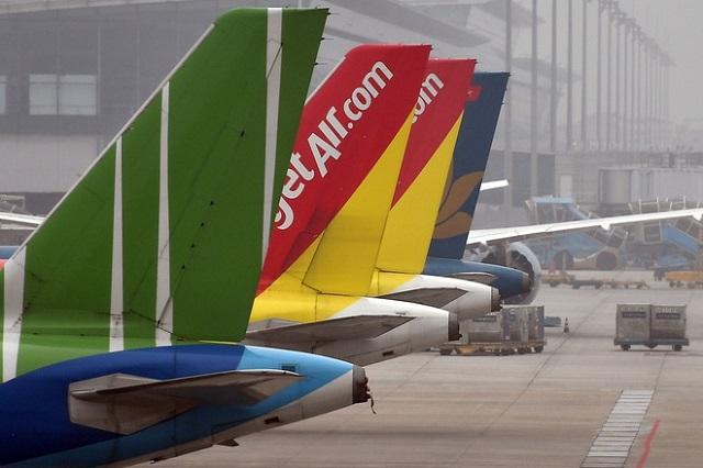 Theo nhà chức trách hàng không, thời gian gần đây xuất hiện hành vi lừa đảo để trục lợi từ hành khách đi máy bay trong bối cảnh đại dịch Covid-19. Ảnh: Diệp Anh.