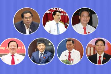 Chân dung chủ tịch UBND 7 tỉnh được bầu tuần qua