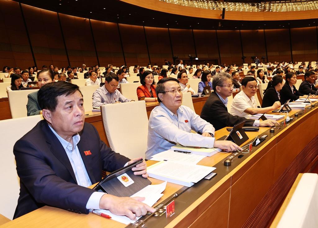 Quốc hội thông qua nghị quyết tổ chức chính quyền đô thị tại TP HCM