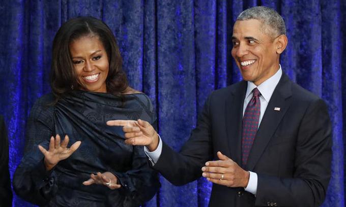 Obama đùa sẽ bị vợ bỏ nếu quay lại Nhà Trắng