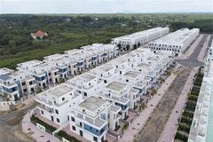 Toàn cảnh 680 biệt thự do LDG xây dựng khi chưa được giao đất tại Đồng Nai