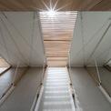 <p> Mái nhà được thiết kế với khả năng đón ánh sáng tối đa.</p>