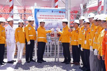 PV Gas bắt đầu nhận khí từ mỏ Sao Vàng – Đại Nguyệt