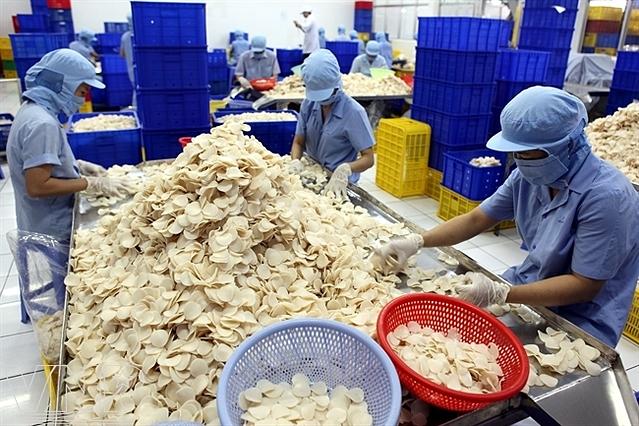 Nhà máy sản xuất của Sa Giang.