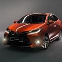 <p> Vios 2020 được chia sẻ thiết kế với mẫu hatchback Toyota Yaris, phần đầu xe trông hầm hố và mạnh mẽ hơn. Các chi tiết trở nên sắc sảo hơn gồm có đèn chiếu sáng, đèn định vị LED, lưới tản nhiệt hình thang ngược, cản trước và hốc đèn sương mù. Đèn chiếu sáng LED là trang bị tiêu chuẩn của Vios 2020.</p>