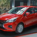 """<p class=""""Normal""""> <strong>Mitsubishi Attrage</strong></p> <p class=""""Normal""""> Bên cạnh Xpander, mẫu sedan cỡ B Attrage cũng đang được Mitsubishi ưu đãi 50% phí trước bạ trong tháng 11. Mẫu xe nhập khẩu này có giá bán lẻ đề xuất là 375 triệu đồng với bản MT và 460 triệu đồng với bản CVT. (Ảnh: <em>VnExpress</em>)</p>"""