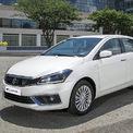 """<p class=""""Normal""""> <strong>Suzuki Ciaz</strong></p> <p class=""""Normal""""> Suzuki Ciaz 2020 ra mắt thị trường Việt hồi cuối tháng 9 với giá niêm yết 529 triệu đồng. Hiện mẫu xe này được ưu đãi 50% phí trước bạ, tương đương với 30 triệu đồng. (Ảnh: <em>Suzuki</em>)</p>"""