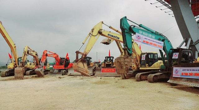 Triển khai 3 gói thầu cao tốc Mai Sơn - Quốc lộ 5 hơn 4.000 tỷ đồng