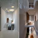 <p> Các kiến trúc sư đã ưu tiên sử dụng giải pháp thiết kế lệch tầng,chú trọng khai thác ánh sáng và lưu thông không khí theo phương thẳng đứng.</p>