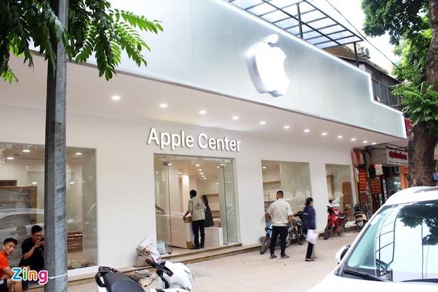 Cửa hàng nhái Apple Store ở Hà Nội sẽ phải gỡ logo táo khuyết