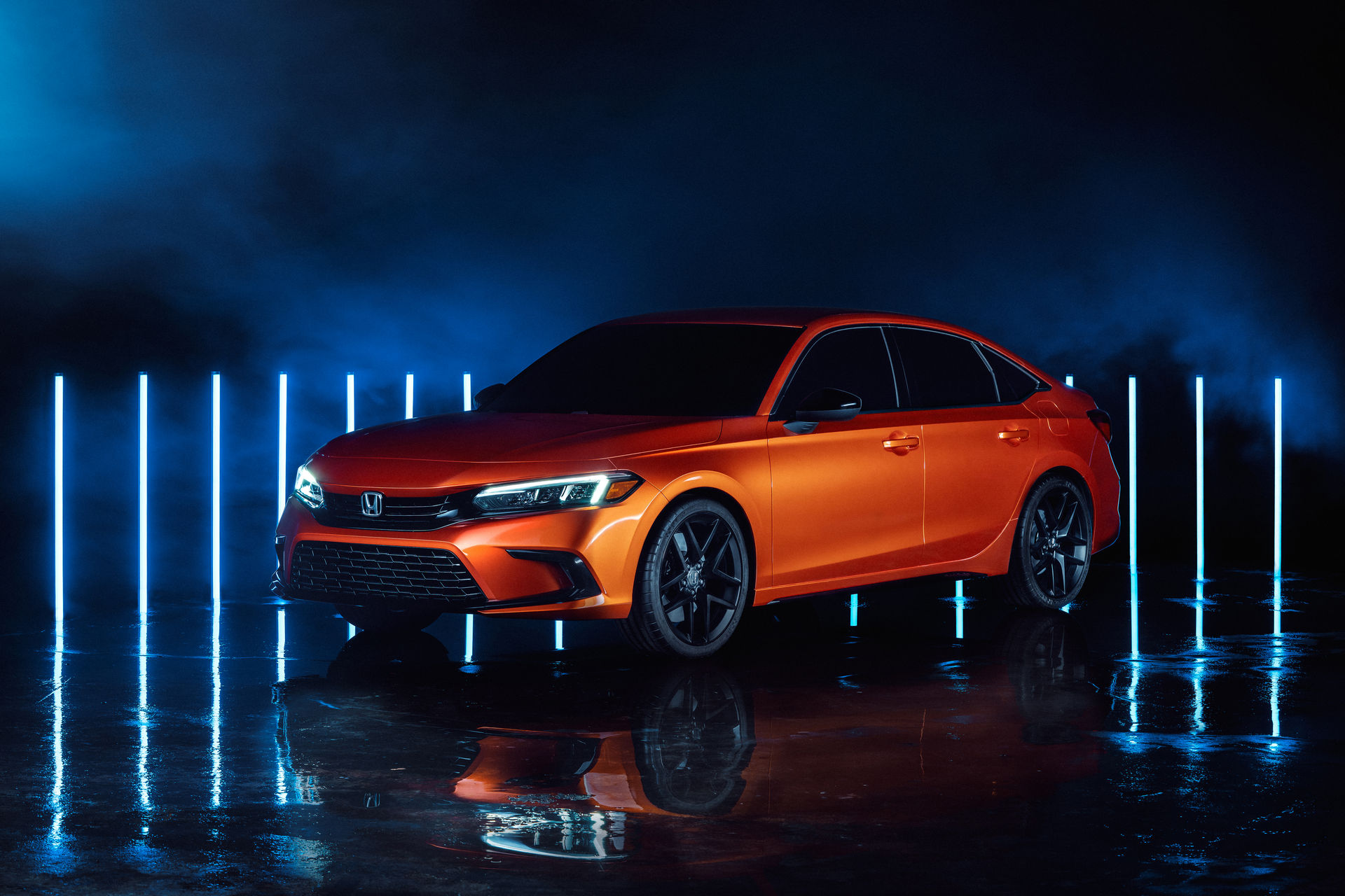 Honda Civic 2022 giống Accord thu nhỏ