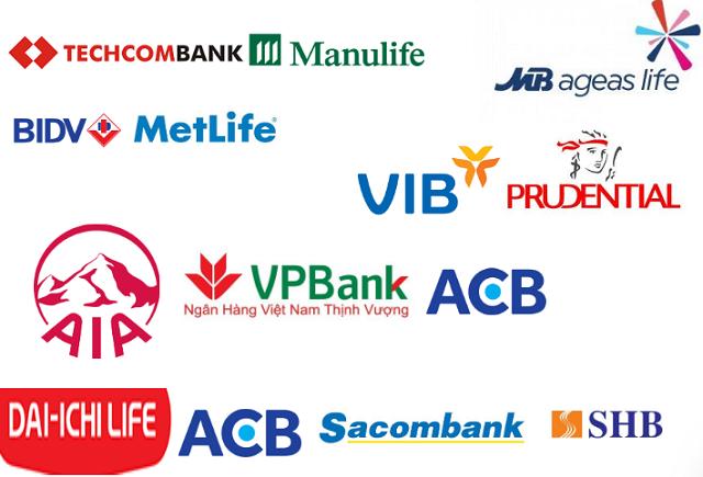 Nhiều ngân hàng hợp tác cùng với công ty bảo hiểm trong các hợp đồng độc quyền.