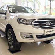 Ford Everest tại Việt Nam giảm gần 100 triệu, 'dọn kho' đón mẫu mới