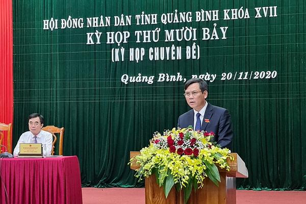 Ông Trần Thắng được bầu làm Chủ tịch UBND tỉnh Quảng Bình