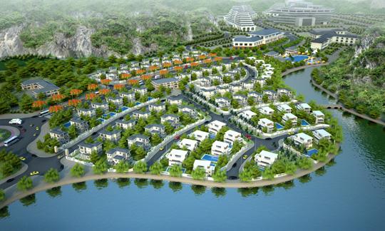 Vinaconex-ITC triển khai Khu đô thị du lịch Cái Giá