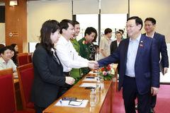 Hà Nội bầu chủ tịch HĐND và 5 phó chủ tịch UBND
