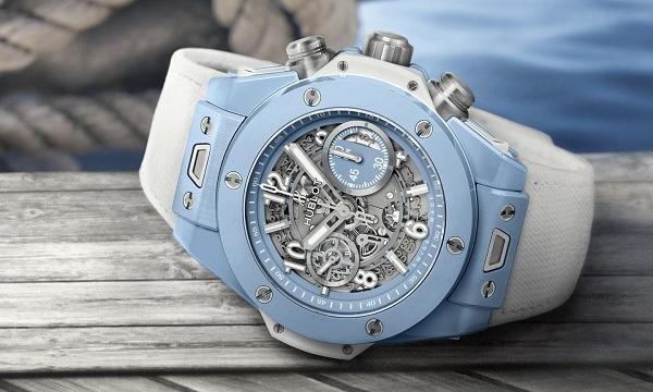 Đồng hồ Hublot Big Bang Unico 45 Sky Blue giá 21.500 USD có gì đặc biệt?
