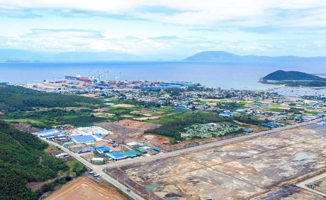 Nhiều khu vực ở Khu kinh tế Vân Phong rất thuận lợi để phát triển các dự án về kho khí và điện khí.