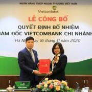 Vietcombank bổ nhiệm 2 phó giám đốc