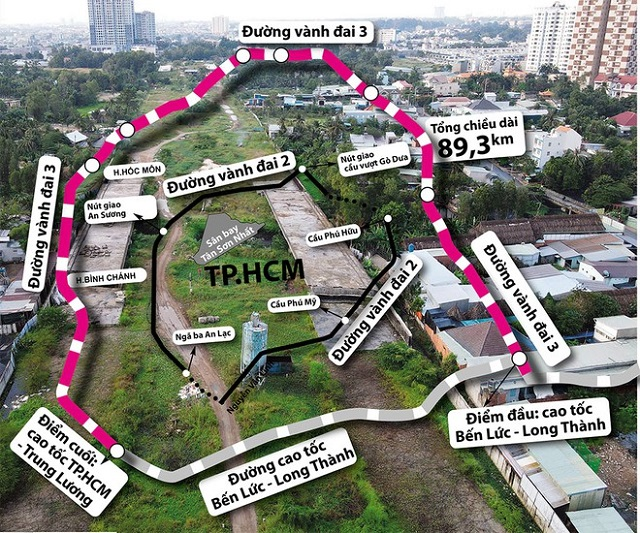 Cấp bách đường vành đai TP HCM