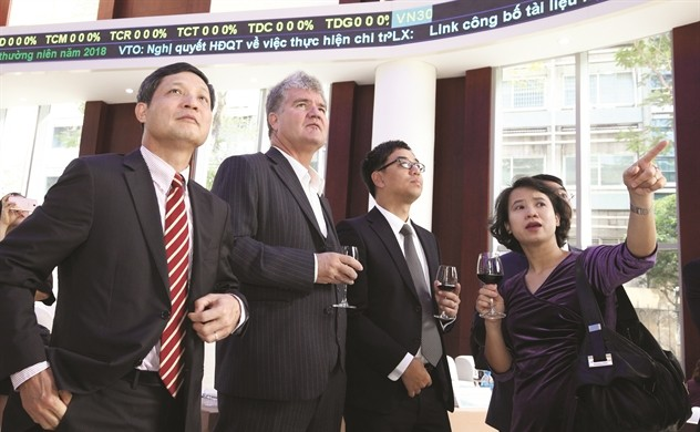 Khối ngoại mua ròng phiên thứ 5 liên tiếp trên HoSE, đạt 134 tỷ đồng
