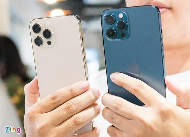 Người dùng Việt chủ yếu chọn mua iPhone 12 Pro Max.