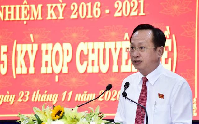 Tân Chủ tịch UBND tỉnh Bạc Liêu Phạm Văn Thiều.