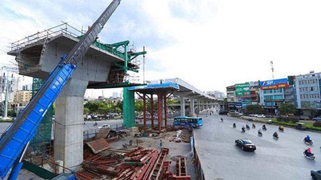 Tuyến đường sắt đô thị Nhổn - ga Hà Nội dự kiến vận hành năm 2022.