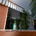 <p> Với công trình này, KTS đã tạo ra khoảng đệm ở giữa nhà. Không gian bậc thang cùng hệ mái tầng bậc tạo ra những những khu vườn tầng tiếp diễn, những khoảng lùi sâu che chắn ánh nắng nóng vào buổi chiều.</p>