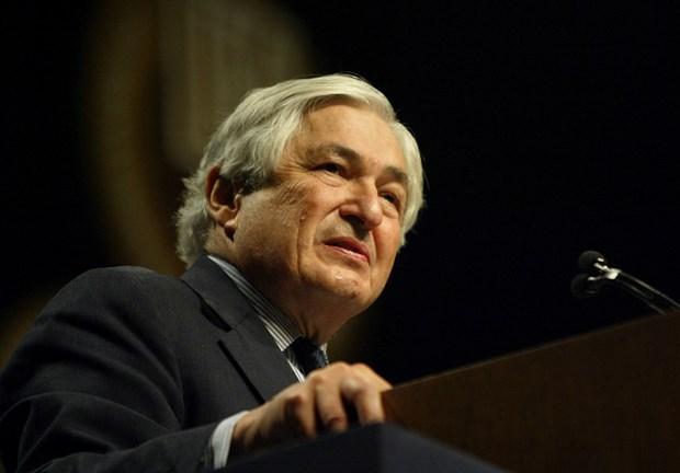 Ảnh chụp ông James Wolfensohn năm 2004. (Nguồn: AP)