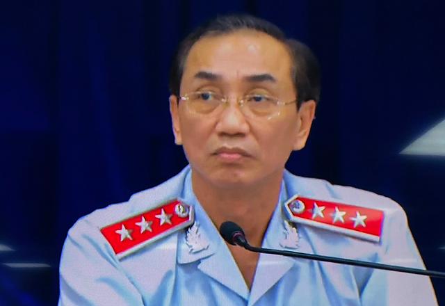 Phó tổng Thanh tra Chính phủ Đặng Công Huẩn chủ trì buổi đối thoại.