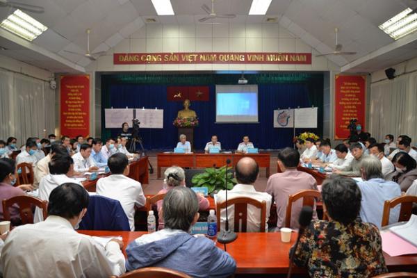 Đối thoại Thủ Thiêm: Dự thảo kết quả giải quyết khiếu nại '5 khu phố 3 phường'