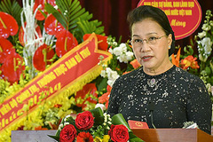 Chủ tịch Quốc hội: Ngành ngân hàng là huyết mạch của nền kinh tế, có nhiệm vụ nặng nề