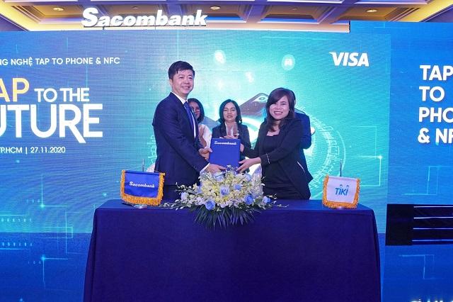 Ngân hàng Việt đầu tiên triển khai công nghệ tap to phone và NFC