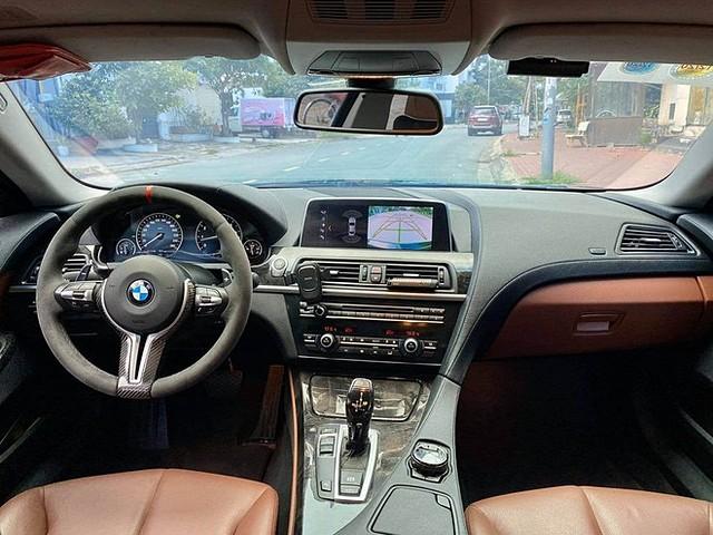 Phong cách thiết kế nội thất BMW 6-Series Gran Coupe khác biệt với nhiều dòng xe BMW khác