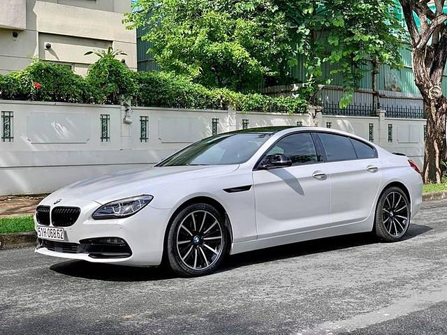 BMW 640i Gran Coupe có thiết kế ngoại hình thu hút