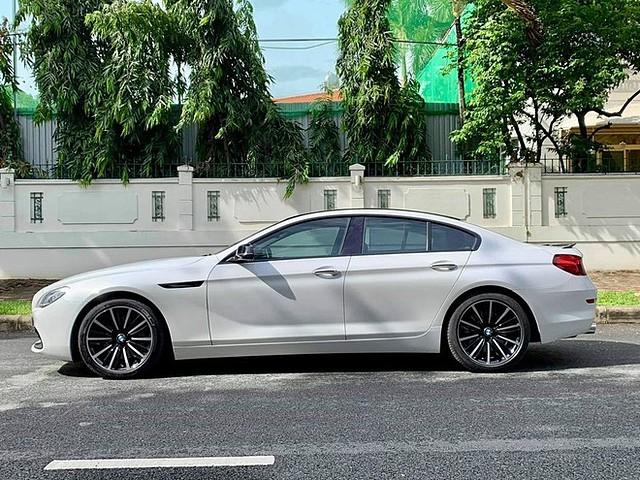 BMW 640i Gran Coupe đời 2016 hiện có giá khoảng hơn 2 tỉ đồng trên thị trường xe cũ