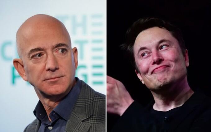 Cuộc chiến của hai người giàu nhất thế giới: Elon Musk và Jeff Bezos