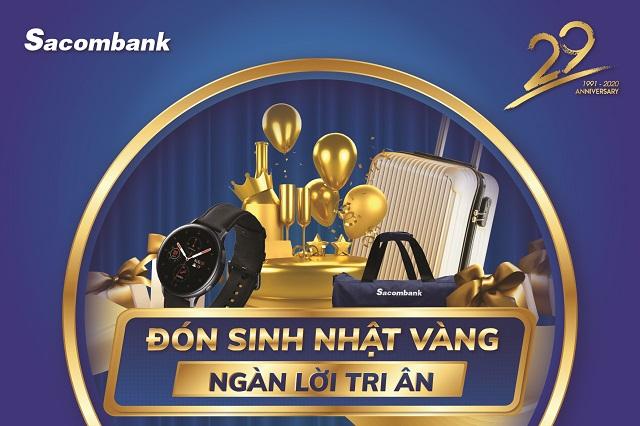 Sacombank đưa ra nhiều chương trình ưu đãi với khách hàng có thẻ.