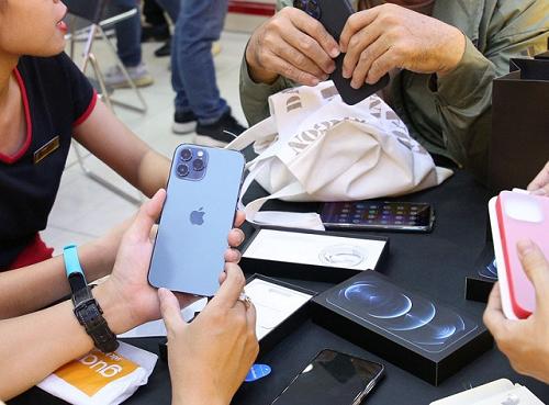 iPhone 12 Pro Max chính hãng khan hàng tại Việt Nam.