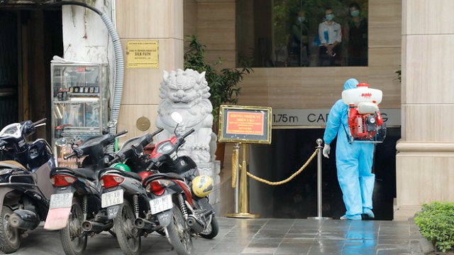 Bệnh nhân Covid-19 mới được phát hiện tại nơi cách ly trên địa bàn Q.Hoàn Kiếm, Hà Nội.