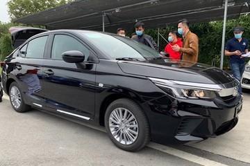 Lộ diện Honda City 2021 bản 'giá rẻ' tại Việt Nam