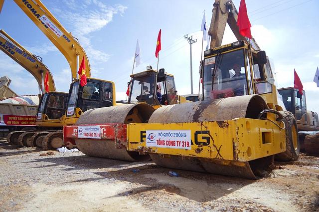 khởi công được phần lớn các gói thầu xây lắp thuộc 3 dự án thành phần cao tốc Bắc - Nam phía Đông.