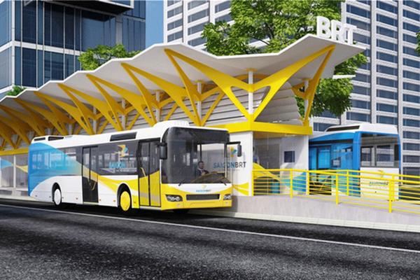 TP HCM khởi động lại tuyến xe buýt nhanh số 1 với vốn đầu tư gần 3.300 tỷ đồng