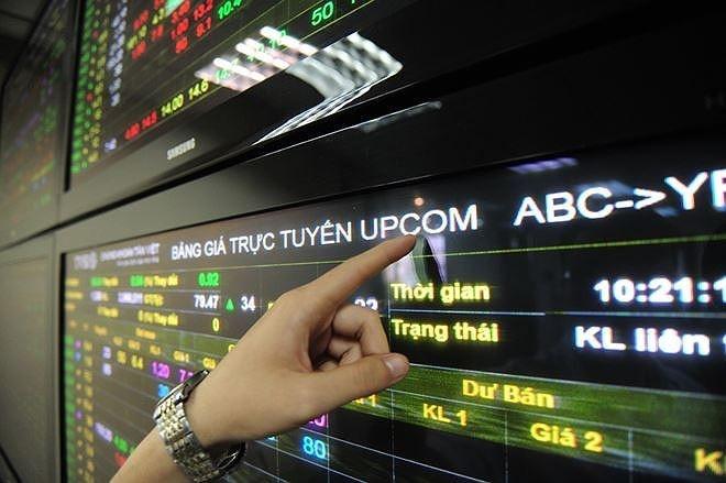 Khối lượng giao dịch UPCoM giảm gần 14% trong tháng 11