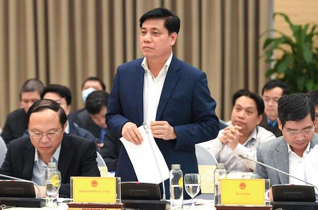 Thứ trưởng Giao thông vận tải Nguyễn Ngọc Đông.
