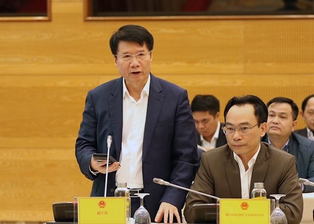 Thứ trưởng Y tế Trương Quốc Cường.