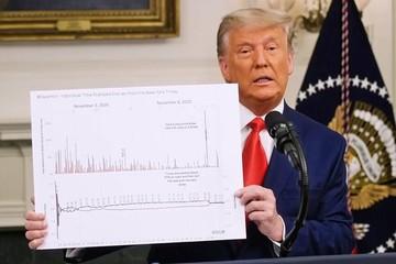 Trump đăng video 46 phút để cáo buộc gian lận bầu cử