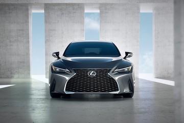 Xe sang Lexus IS thế hệ mới sắp về Việt Nam